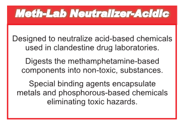 Meth-Lab Neutralizer - Acidic